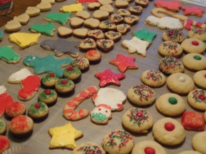 Cookies, cookies and more cookies....last year!!