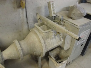 Pug Mill used to  re-purpose